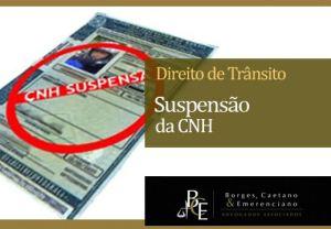 Suspensão da CNH